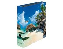 Pořadač pákový Herlitz Max File A4/8cm motiv Seychely 1ks