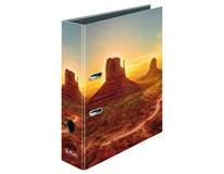 Pořadač pákový Herlitz Max File A4/8cm motiv Arizona 1ks