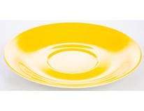 Podšálek Ritzenhoff&Breker Doppio 17cm porcelán žlutý 1ks