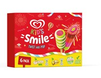 Algida Smile Twister&X-Pop mraž. 6x50ml