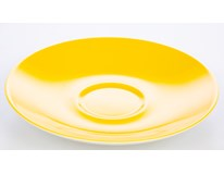 Podšálek Ritzenhoff&Breker Doppio 12cm porcelán žlutý 1ks