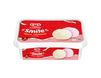 Algida Smile Zmrzlina Strawberry&Vanilla mraž. 1x900ml