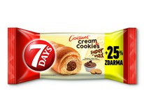 7Days Croissant Super Max Cream&Cookies oříšek&sušenky 20x110g