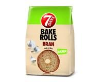 7Days Bake Rolls Bran Křupavé chipsy česnek 14x80g
