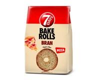 7Days Bake Rolls Bran Křupavé chipsy pizza 14x80g