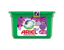 Ariel All-In-1 PODs + Complete Color&Style Tablety na praní 1x12ks