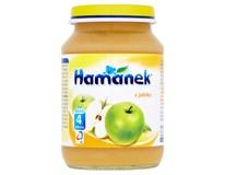 Hamánek Příkrm ovocný jablko 8x190g sklo