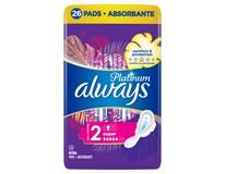 Always Ultra Platinum Super (Velikost 2) Dámské vložky dlouhé s křidélky 1x26ks
