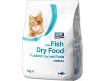 ARO Granule pro kočky ryba 1x1kg