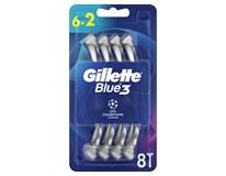 Gillette Blue3 Football Holítko pohotové 1x6+2ks