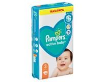 Pampers Active Baby Plenky velikost 3 (6kg-10kg) 1x66ks