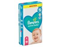 Pampers Active Baby Plenky velikost 4 (9kg-14kg) 1x58ks