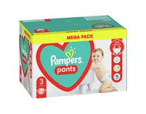 Pampers Pants Plenky velikost 3 (6kg-11kg) 1x128ks Mega Pack