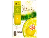 Svíčka Citronela Maxi 6ks