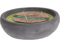 Svíčka Citronella v květináči 165x95mm 1ks