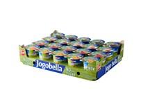 Jogobella Jogurt bez přidaného cukru (jah.,třeš.,jabl./hruš.,brosk./mango) chlaz. 20x150g