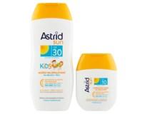 Astrid Sun Dětské mléko na opalování OF30 1x200ml+Hydratační mléko na opalování OF10 1x80ml