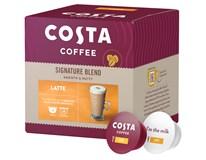 Costa Coffee Dolce Gusto Latte Smooth&Nutty Kapsle kávové 1x8+8ks