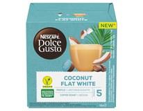 Nescafé Dolce Gusto Flat White Coconut Kávové kapsle 12ks 1x116g