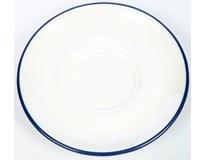 Podšálek G.Benedikt Retro 12cm modrý porcelán 1ks