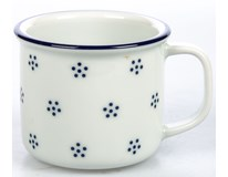 Hrnek G.Benedikt Retro 180ml modrý porcelán 1ks
