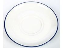 Podšálek G.Benedikt Retro 14cm modrý porcelán 1ks