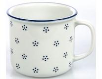 Hrnek G.Benedikt Retro 350ml modrý porcelán 1ks