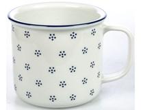 Hrnek G.Benedikt Retro 750ml modrý porcelán 1ks