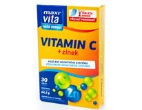 MaxiVita Vitamín C+zinek 1x30 tablet