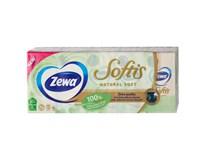 Zewa Softis Natural Soft Kapesníčky 4-vrstvé 10x9ks