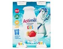 Actimel Kids Nápoj probiotický jogurtový jahoda/banán chlaz. 6x4x100g