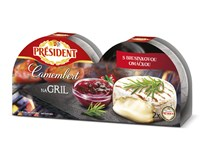 President Camembert na gril chlaz. 1x225g