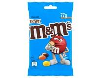 M&M's Crispy Dražé z mléčné čokolády 16x77g