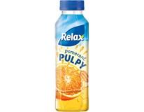 Relax Pulpy Nápoj ovocný pomeranč 12x400ml
