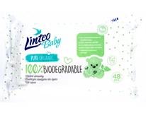 Linteo Biodegradable Ubrousky vlhčené dětské 1x48ks