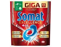 Somat Excellence Tablety do myčky nádobí 1x65ks