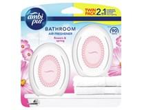 Ambi Pur Bathroom Flower Osvěžovač vzduchu 2x15ml