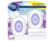 Ambi Pur Bathroom Lavender Osvěžovač vzduchu 2x15ml