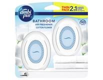 Ambi Pur Bathroom Cotton Osvěžovač vzduchu 2x15ml
