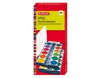 Barvy vodové Herlitz 24 barev výměnné 1ks