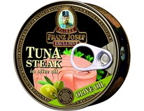 Franz Josef Kaiser Tuňák steak v olivovém oleji 6x150g