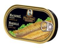 Franz Josef Kaiser Makrela filety uzené v oleji 1x170g