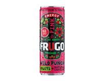 Frugo Wild Punch Energetický nápoj pink 24x330ml
