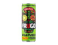 Frugo Wild Punch Energetický nápoj green 24x330ml