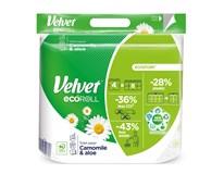 Velvet Toaletní papír Ecoroll white 3-vrstvý 4ks