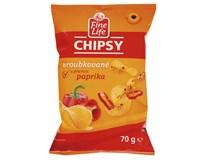 Fine Life Chipsy paprika 1x70g
