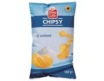 Fine Life Chipsy sůl 1x130g