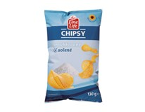 Fine Life Chipsy sůl 20x130g