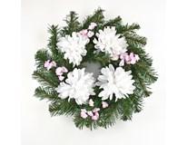 Věnec s chryzantémami 1ks