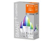 Žárovka Ledvance Smart+wifi Classic B40 5W E14 RGB 3ks